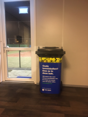 Recycling Tennisballen!!